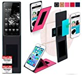 reboon Hülle für HomTom Ht5 Tasche Cover Case Bumper | Pink | Testsieger