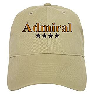 CafePress - Admiral's - Baseball Cap with Adjustable Closure, Unique Printed Baseball Hat