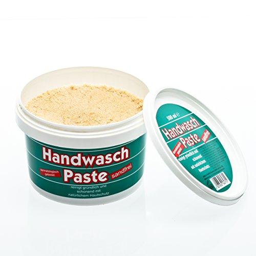 Preisvergleich Produktbild ABODERM Handwaschpaste (500 ml) für Handwerker, beseitigt hautschonend Öl und schwermetallhaltige Verschmutzungen, sandfrei
