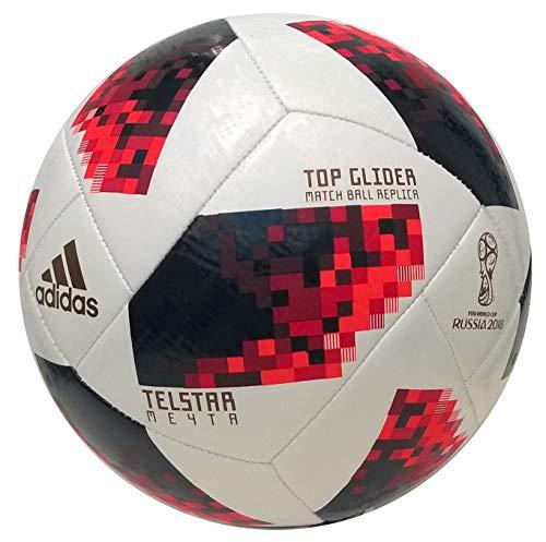 new concept cdab6 c4f19 adidas Herren FIFA Fussball-Weltmeisterschaft Knockout Top Glider Ball,  White Solred Black