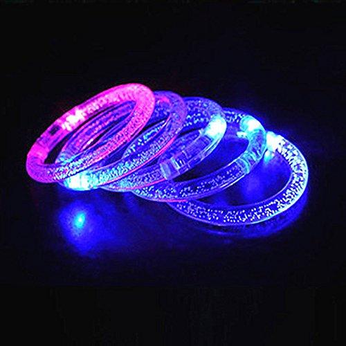 unkeln Leuchten, Ersatzbatterie (Im Lieferumfang Enthalten) Mit Strom Versorgt, Wiederverwendung, Ideal Für Partys, Hochzeiten, Geburtstage Und Mehr (2 Teile) ()