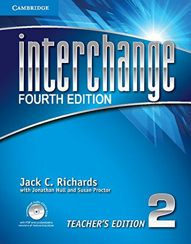 Interchange 4th  2 Teacher's Edition with Assessment Audio CD/CD-ROM (Interchange Fourth Edition)