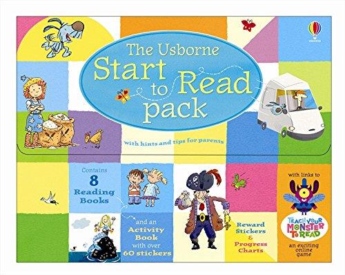 Usborne start to read pack