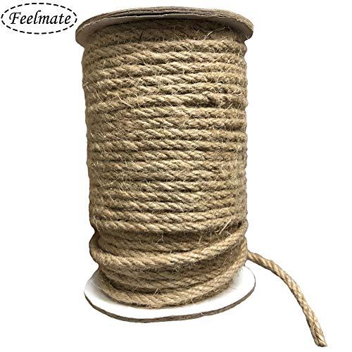 Feelmate 1 Rollo Cordel Yute Natural Vintage Cuerda