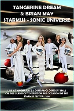 Tangerine Dream - Starmus - Sonic Universe (DVD-Double Layer) eastgate 016 DVD PAL (Dmi-bogen)