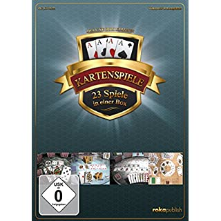 Kartenspiele 23 in 1 Deluxe Box Edition - [PC]