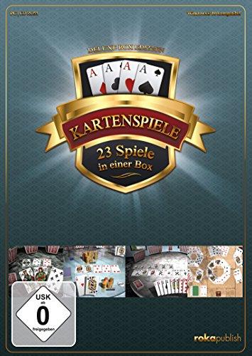 Kartenspiele 23 in 1 Deluxe Box Edition - [PC]