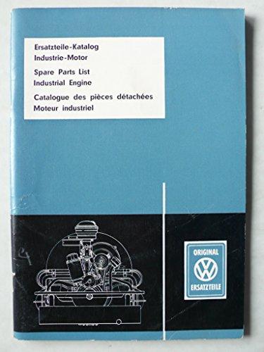 VW Industrie-Motor - Ersatzteile-Katalog