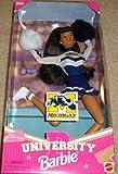 Michigan University Barbie Cheerleader African-American