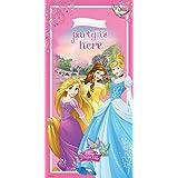 Decoración de la puerta de Disney Princesa? 76 x 152 cm - One Size