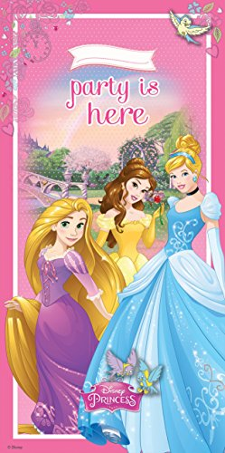 Banner, 5 ft x 2.5 FT (Disney Belle Princess)