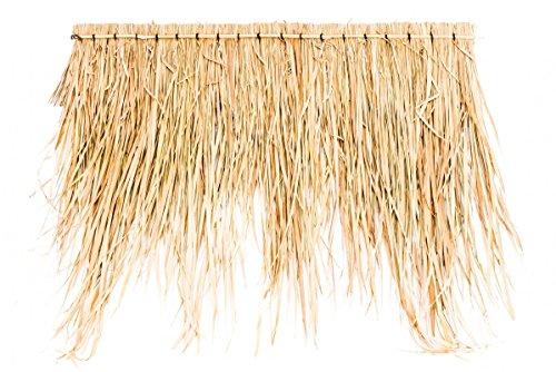 NaDeco Palmendach Paneele ca. 100cm | Palmenblatt Dach | Strohdach | Palmwedel Dach | Bambusdach