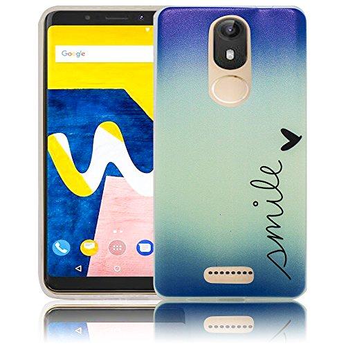 Wiko View Lite Passend Smile Handy-Hülle Silikon - staubdicht, stoßfest & leicht - Smartphone-Case