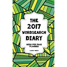 The 2017 Wordsearch Diary: Week per page