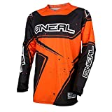 O'Neal Element Racewear Youth Kinder Jersey Orange Schwarz MX MTB