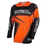 O'Neal Element Racewear Youth Kinder Jersey Orange Schwarz MX MTB DH Trikot Motocross Offroad