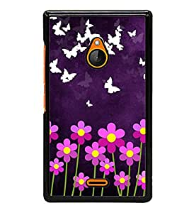 Aart Designer Luxurious Back Covers for Nokia XL540 + 3D F2 Screen Magnifier + Mini Selfie Stick and Portable Mini 16 LED, 3.5mm Jack, Selfie Enhancing Flash Light by Aart Store.