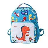 AMUSTER Sac à dos fille garçon enfant dessin animé dinosaure animal sac à dos sac pour tout-petitst école sacs (H)