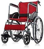 med-e move SLN Premium basic wheel chair foldable (RED)LP