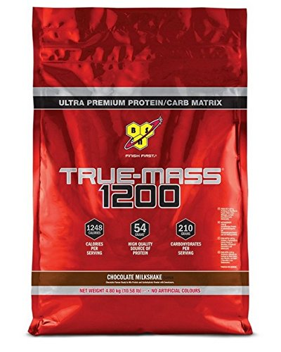 BSN True Mass 1200 Gainer Powder, Chocolate, 4.8 kg