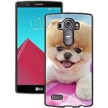 LG G4Case, Rainbow Wolf funda para LG G4–Negro PC Side