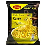 Maggi Magic Asia Instant Nudelsnack Curry, 12er Pack (12 x 65 g)