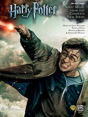 Harry Potter -- Sheet Music from the Complete Film Series: Big Note Piano (Harry Potter Sheet Mucic) (Alfred Sheet Music)