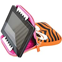 Tab Zoo Universal Fit Protective Tablet Sleeve with Viewing Stand Up to 11-inch - Tiger