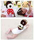 #3: DaKos Baby Toddlers Head Protector For Baby Walkers (Age 4-24 Months) ABeetle (Red & White)