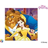 Procos Disney Beauty & The Beast Paper Party Lunch Napkins (20 Pack)