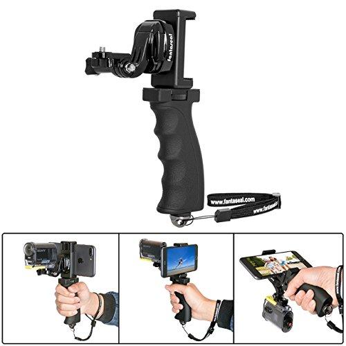 fantasealr-4-en-1-action-camera-smartphone-grip-support-micro-film-poignee-ergonomique-stabilisateur