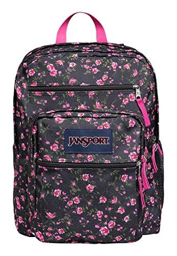 JanSport Big Student Classics Series Backpack - LIPSTICK PINK TEA ROSE DITZY