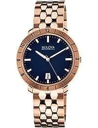 Bulova Accutron II Analog Blue Dial Men's Watch - 97B130