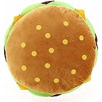 Kanggest Oreiller en Forme de Coussin Multifonction Hamburger Original Style Creative Coussin Fille en Peluche Cadeau
