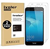 [Lot de 2] Honor 5c Protection écran, iVoler [0.30 mm Dureté 9H] Film Protection d'écran en Verre Trempé Glass Screen Protector Vitre Tempered pour Huawei Honor 5c - Dureté 9H, Ultra-mince 0.30 mm, 2.5D Bords Arrondis- Anti-rayure, Anti-traces de Doigts