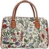 ladies travel bag/weekend duffle bag/gym bag/cabin approved hand luggage Morning Garden Design