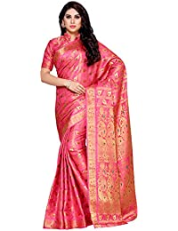 Mimosa Women's Silk Saree With Blouse Piece (4144-138-Sd-Gajj_Gajri)