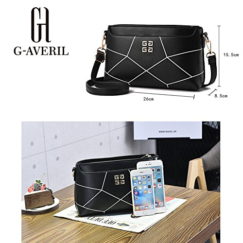 G-AVERIL, Borsa a mano uomo Nero Black Black