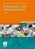Einführung in die Abfallwirtschaft -