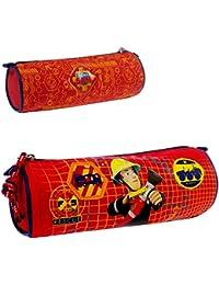 Trademark Caja de Lápiz Rojo | Sam El Bombero | Fireman Sam | 20 x7x7cm |