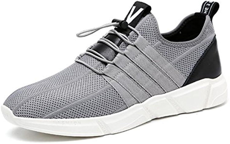 LQV Zapatos de Verano nuevos para Hombres Zapatos de Malla Transpirables para jóvenes Zapatos Ligeros para Correr...