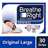 Breathe Right - 2391324 - 30 bandes nasales - Large