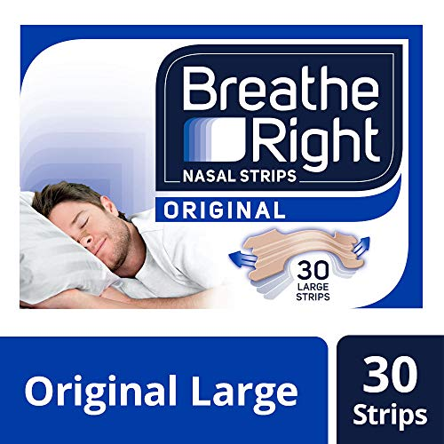 Breathe Right Nasal Strips Large Size 30 Strips -