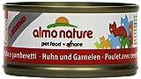 Almo Nature Legend Katzenfutter Huhn und Garnelen (24 x 70g)
