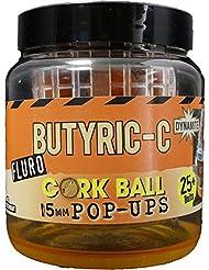 Dynamite Baits Pop-Ups Cork Ball Butyric-C 15 Mm boilies equipo pesca DY952