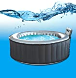 MSPA Silver Cloud Portable Inflatable Hot Tub Spa