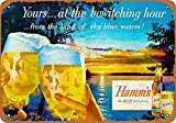 Sary buri Metal Tin Sign Poster Hamm's Beer Bewitching