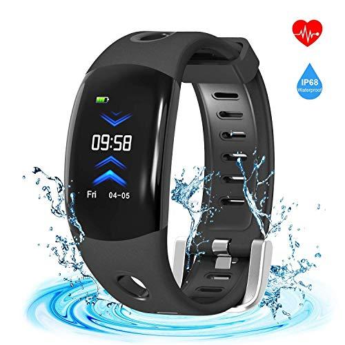 C-Xka Fitness Tracker Health Monitor Uhr Pulsuhr IP68 Wasserdichte Intelligente Armband Mehrere Sportarten Fernbedienung Kamera Schrittzähler Schlaf Monitor Für Kinder Frauen Männer