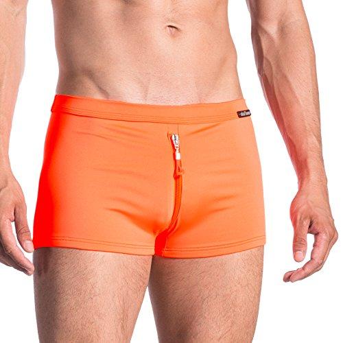 Olaf Benz Herren Badehose Orange (Ibiza 8330)