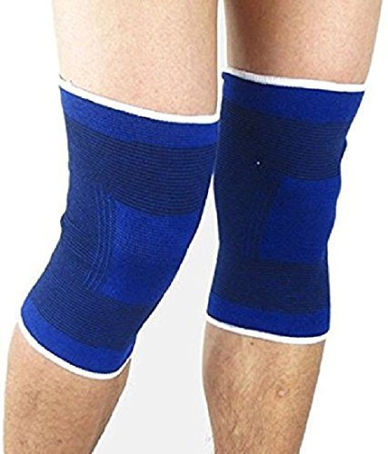 Auxter 2PCS High Quality Leg Support Kneepad for Sports Knee Pad Protector Keep Warm Guard Brace Protection Breathable Pads  available at amazon for Rs.199